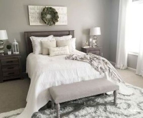 Amazing Rustic Farmhouse Master Bedroom Ideas 37