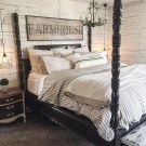 Amazing Rustic Farmhouse Master Bedroom Ideas 44