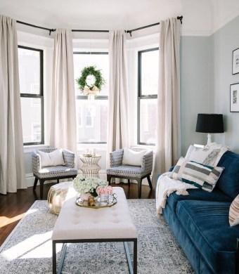 Cozy Apartment Living Room Decoration Ideas 50