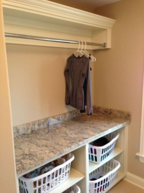 Genius Laundry Room Storage Organization Ideas 07