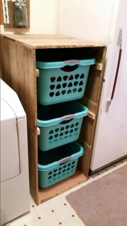 Genius Laundry Room Storage Organization Ideas 55