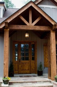 Great Front Porch Addition Ranch Remodeling Ideas 35