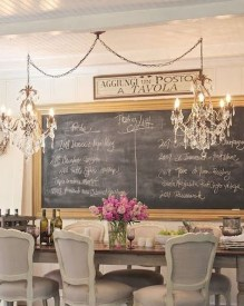 Incredible Fancy French Country Dining Room Design Ideas 17