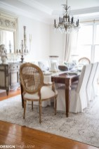 Incredible Fancy French Country Dining Room Design Ideas 19