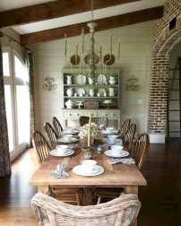 Incredible Fancy French Country Dining Room Design Ideas 21