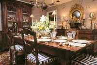 Incredible Fancy French Country Dining Room Design Ideas 41