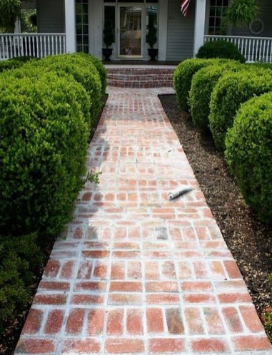 Stunning Front Yard Path Walkway Design Ideas 16