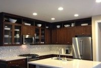 Awesome Decorating Above Kitchen Cabinets 43