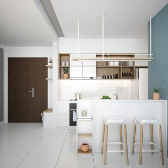 Beautiful Modern Small Apartment Design Ideas 36