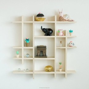 Cheap Decorative Box Shelves Ideas 40