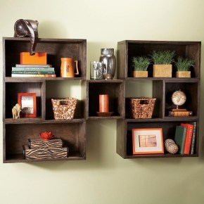 Cheap Decorative Box Shelves Ideas 41
