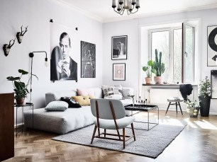 Creative Scandinavian Living Room Ideas 18