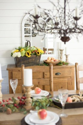 Fascinating Fall Home Tour Decor To Inspire 25
