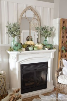 Fascinating Fall Home Tour Decor To Inspire 41