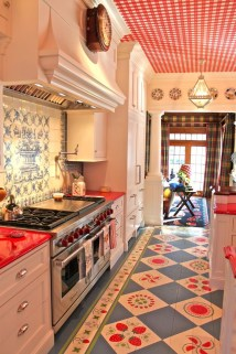 Incredible Colorful Kitchen Ideas 06