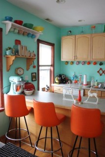 Incredible Colorful Kitchen Ideas 09