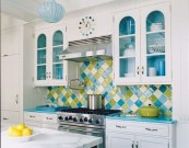 Incredible Colorful Kitchen Ideas 13