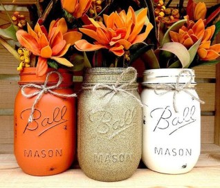 Modern Diy Fall Centerpiece Ideas For Your Home Decor 25