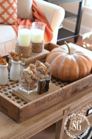 Modern Diy Fall Centerpiece Ideas For Your Home Decor 26