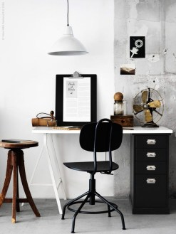Modern Ikea Office Design Ideas 21