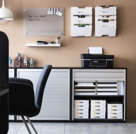 Modern Ikea Office Design Ideas 24