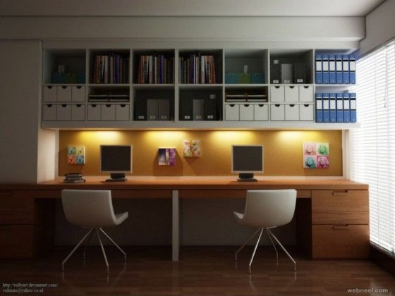 Modern Ikea Office Design Ideas 28