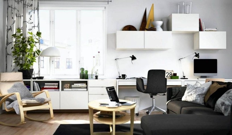 Modern Ikea Office Design Ideas 34