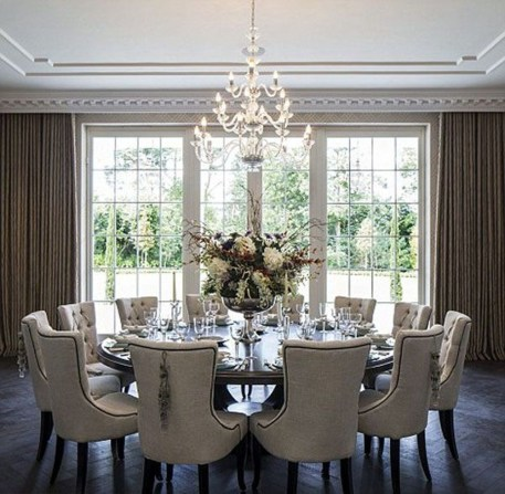 Stylish Beautiful Dining Room Design Ideas 31