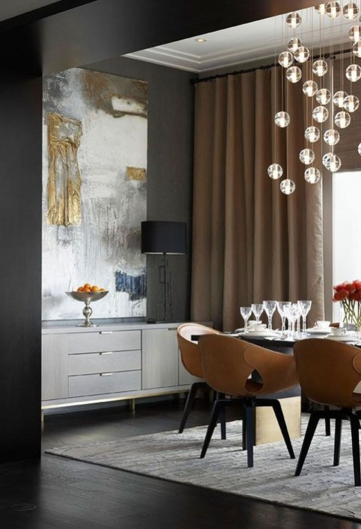 Stylish Beautiful Dining Room Design Ideas 43