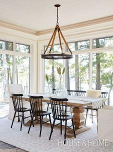 Stylish Beautiful Dining Room Design Ideas 46
