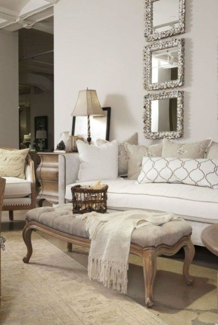 The Best Beige Living Room Design Ideas 42