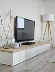 Cozy Minimalist Farmhouse Tv Stand Ideas 14