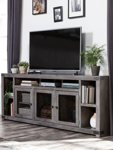 Cozy Minimalist Farmhouse Tv Stand Ideas 39