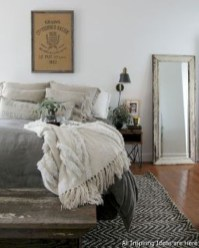 Inspiring Modern Farmhouse Bedroom Decor Ideas 20