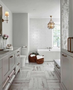 Lovely Farmhouse Bathroom Accessories Ideas 29