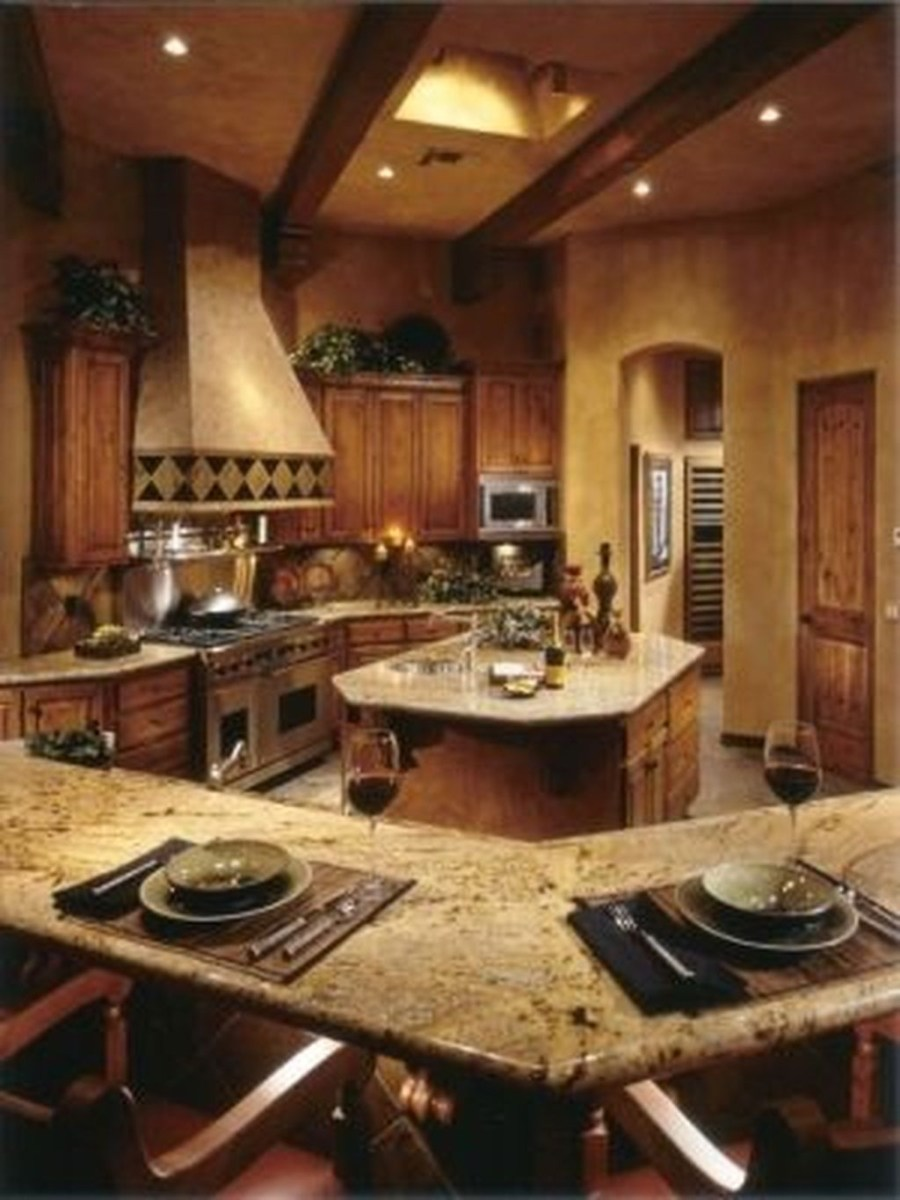 Magnificient Rustic Country Kitchen Ideas To Renew Your Ordinary Kitchen 01
