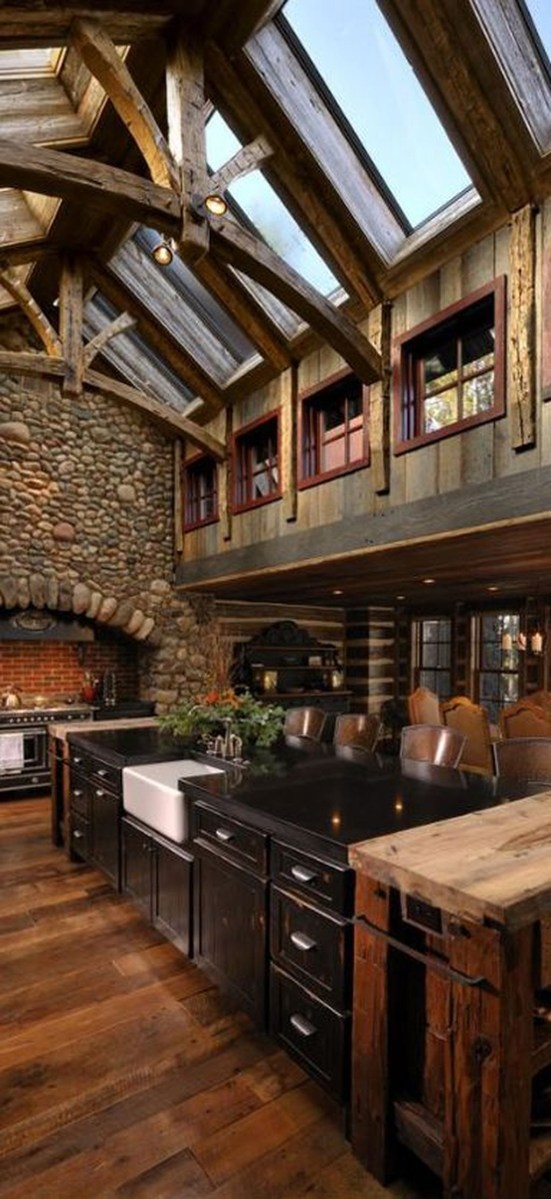 Magnificient Rustic Country Kitchen Ideas To Renew Your Ordinary Kitchen 20