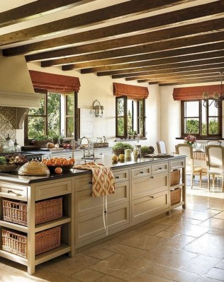 Magnificient Rustic Country Kitchen Ideas To Renew Your Ordinary Kitchen 23