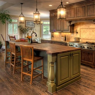 Magnificient Rustic Country Kitchen Ideas To Renew Your Ordinary Kitchen 32