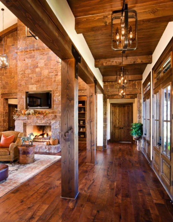 Popular Rustic Country Home Decor Ideas 55