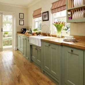 Stunning Farmhouse Kitchen Color Ideas 21