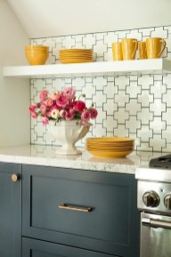 Stunning Farmhouse Kitchen Color Ideas 37