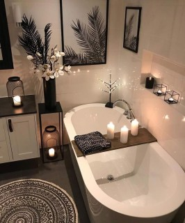 Adorable Contemporary Bathroom Ideas To Inspire 01
