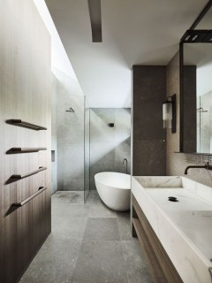 Adorable Contemporary Bathroom Ideas To Inspire 46