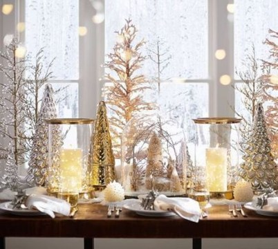Amazing Gold Christmas Decoration Ideas 16