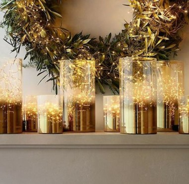 Amazing Gold Christmas Decoration Ideas 24
