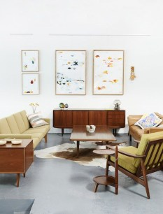 Attractive Mid Century Modern Living Rooms Design Ideas 19