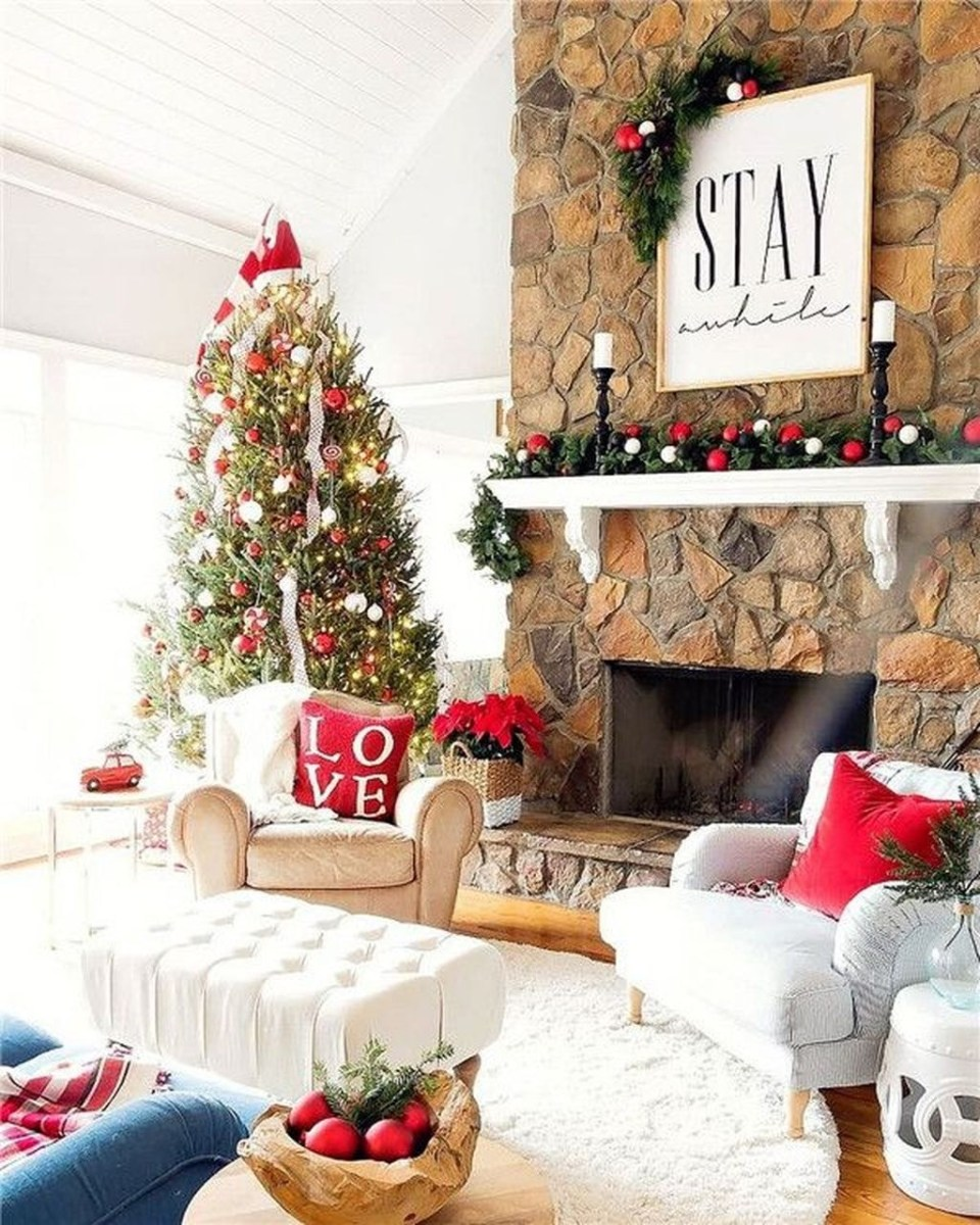 Awesome Country Christmas Decoration Ideas 33