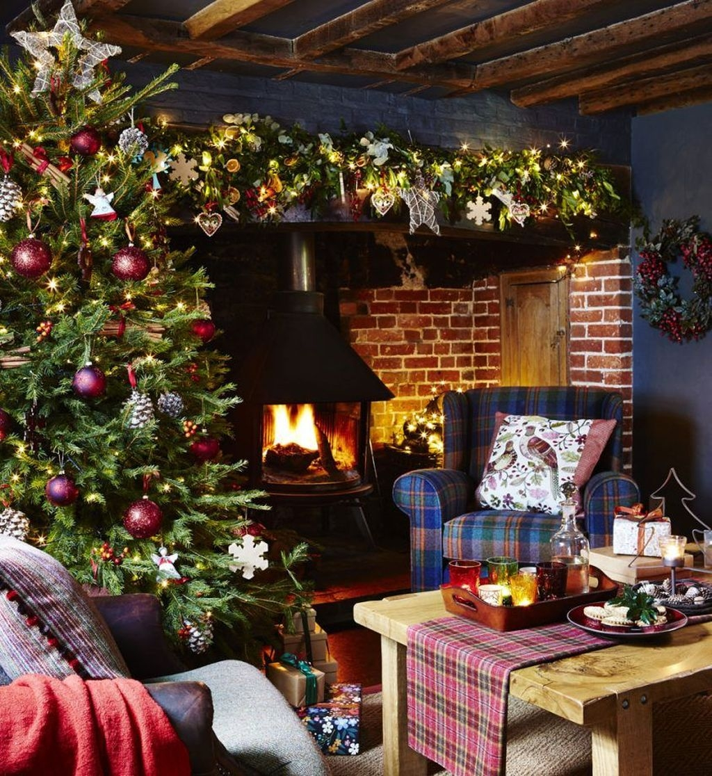 Awesome Country Christmas Decoration Ideas 50