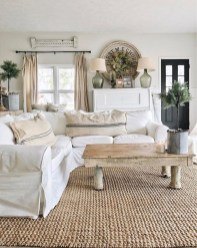 Awesome French Farmhouse Living Room Design Ideas 31